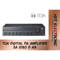 TOA PA Amplifier Digital ZA 2120 D AS