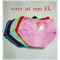 Celana Dalam Wanita Basic Midi Sorex 1230 Ukuran EL - QL