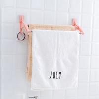 Gantungan Handuk tanpa paku / Towel Hanger / Rak Handuk double tape