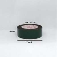lakban busa / double tape foam hijau 46 mm