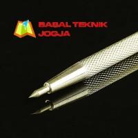 Scriber Etching Pen Tungsten Carbide Tanpa Magnet Pena Penggores Batu
