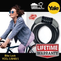 Yale bike lock Premium kunci sepeda ASLI garansi seumur hidup