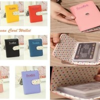 Card Wallet with Cloth Cover (Contents 20 cards)