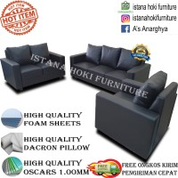 SOFA JUMBO LUXURY DACRON EMPUK KOTAK HIGH QUALITY !! FREE ONGKIR !!