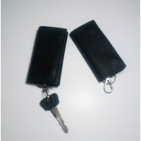 Gantungan Kunci Kulit - Model Lipat Tiga