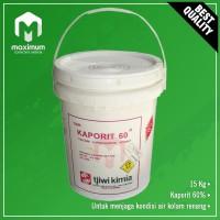 Kaporit TJiwi 60% 15kg - Kaporit Bubuk 15kg Gojek / Grab Only