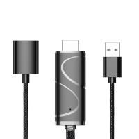 Termurah YIKIXI Mirascreen1080P USB to HDMI Cable Micro USB Type-C Int