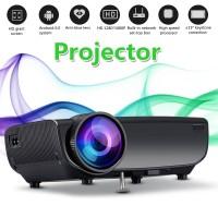 Terlaris 1080P Home LED Projector Remote Control Keystones Correction