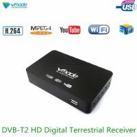 Terbatas Vmade HD 1080P TV Tuner DVB-T2 T H.264 MPEG-2 4 Digital Terre
