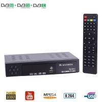 Limited X3 HD Digital TV Receiver DVBS2 DVBT2 DVBC Combo TV BOX Suppor