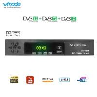 Bazar Vmade HD Digital Terrestrial Satellite TV Receiver DVB-T2 S2 DVB