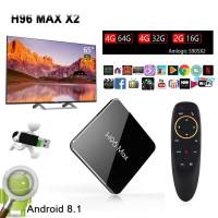 Baru Datang 4GB 32GB 64GB TV Box H96 MAX X2 Amlogic S905X2 Android 8.1