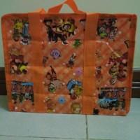 Tas Terpal Lunch Bag Tas Anak Tas Mini Karakter Bekal 30 x 25 x 10 cm