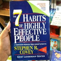 BUKU THE 7 HABITS OF HIGHLY EFFECTIVE PEOPLE - STEPHEN R COVERY