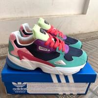 Sepatu Sneakers Adidas Falcon Multicolor Women