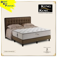 Kasur King Koil Chiro Endorsed Springbed ( Kasur Only ) - 180x200