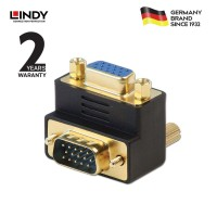 LINDY #70387 VGA angled adapter 90° Down