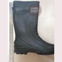 Termurah!! Sepatu Boot Bot Hitam Karet Tinggi kerja Proyek anti air - Hitam, 27