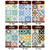Wallsticker Keramik Stiker Tagel Sticker Lantai TF 007- TF 0221
