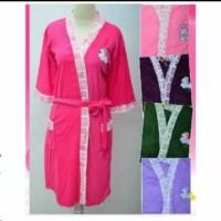 Kimono Baju Handuk Dewasa Tali Depan