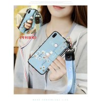 Casing Xiaomi Mi Play Gift lanyard TPU Case