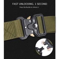 Miluota Tali Ikat Pinggang Canvas Military Tactical 125cm - MU055