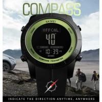 Luxury SKMEI Jam Tangan Kompas Pedometer Digital Pria - 1354