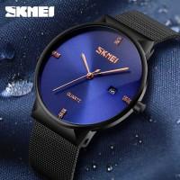 Luxury SKMEI Jam Tangan Analog Pria Stainless Steel - 9164