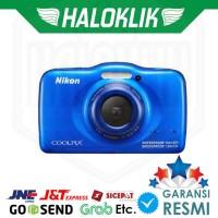 TERBARU Nikon Coolpix W100 Digital Camera - Biru ORIGINAL