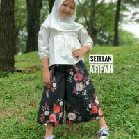 Setelan Kulot Anak Hijabers | Setelan Hijab Anak | AFIFAH SET