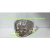 TERMURAH Kaca Helm Visor Helm LTD AVENT Original warna Iridium Silver