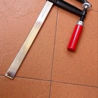 Catok Kayu Clamp F 300mm Bahan Tebal Heavy Duty Catok Tukang Woodworki