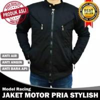 JAKET MOTOR PRIA STYLISH ANTI AIR/ANGIN/BARA API