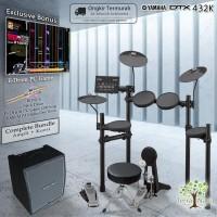 Drum Elektrik Yamaha DTX432 COMPLETE BUNDLE / DTX432K / DTX 432 / 432K