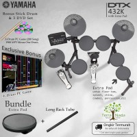 Drum Elektrik Yamaha DTX432K with XtraPad/ DTX432 / DTX 432 / 432K