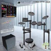 Drum Elektrik Yamaha DTX402 COMPLETE BUNDLE / DTX402K / DTX 402 / 402K
