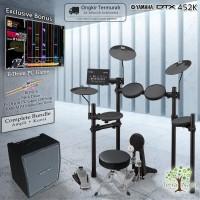 Drum Elektrik Yamaha DTX452 COMPLETE BUNDLE / DTX452K / DTX 452 / 452K