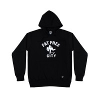 Hoodie Roots Black   Fatfreecity Official Store