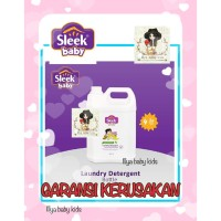Sleek Baby Laundry Detergent 4 Liter KHUSUS GOJEK GRAB