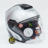 Helm Nolan N40.5 Special Ncom - Salt Silver