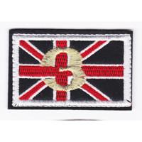 Emblem Bordir Army Flag Ukuran 9x6cm