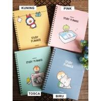 Weekly Planner / Buku Tulis Agenda Diary Full Color - Study Planner