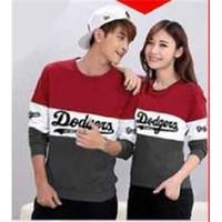 Hoodie Couple Sweater Baju Pasangan | Kopel |Kaos Kembar Dodgers 11182