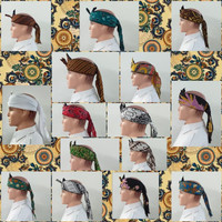Topi Blankon Blangkon Motif Corak Batik Remaja Dewasa Khas Jawa TOP