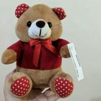 Boneka Pita Bear Red