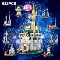 BRICK SY 6584 MICKEY MOUSE CASTLE 8 in 1 KOLEKSI LEGO