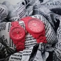 Jam tangan mwatch coral colour 37 mm dan 28 mm original thailand