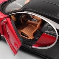 Maisto Miniatur Diecast Mobil Bugatti chiron Skala 1: 24 Warna Merah