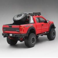 Maisto F-150 Mobil Diecast Ford F-150 Raptor Warna Merah Skala 1: 24