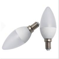 Bohlam Lampu Lilin Cabe LED Candle Hias 3watt E14 not Philips Kuning